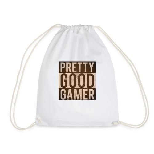 PRETTY GOOD GAMER. - Drawstring Bag