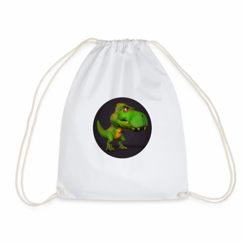 T-Rex - Drawstring Bag