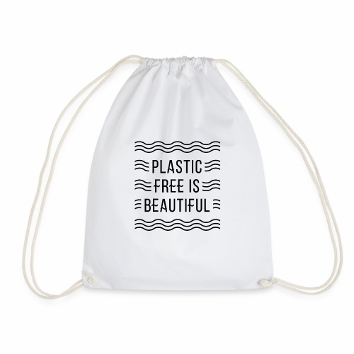 Plastic free is beautiful - Turnbeutel