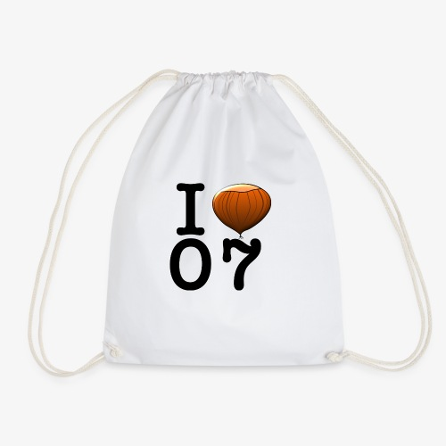 I Love 07 - Sac de sport léger