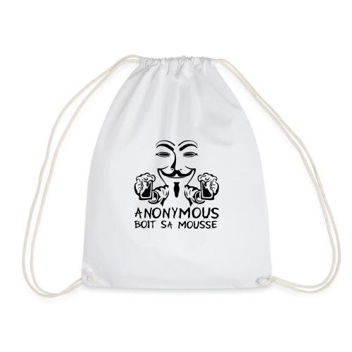 anonymous boit mousse biere alcool humou - Sac de sport léger