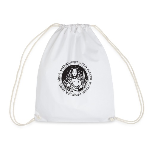 Woman Warrior - Drawstring Bag