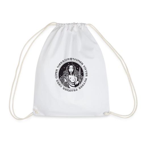 Woman Warrior - Drawstring Bag