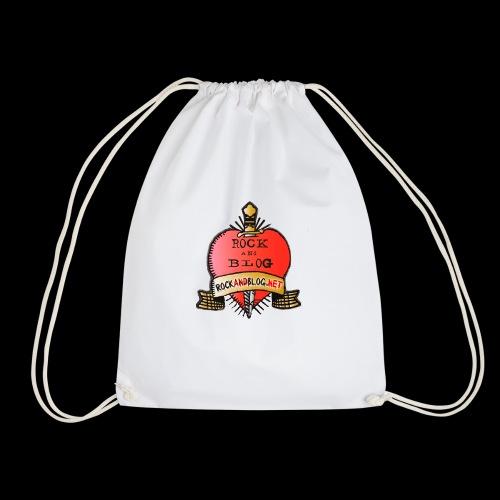 Rock and Blog Heart Logo - Mochila saco