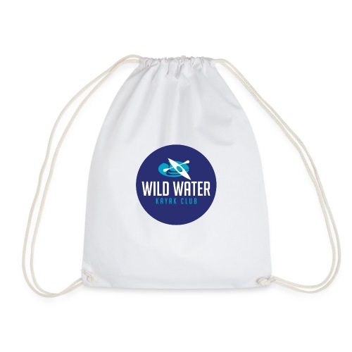 Logo Blue Circle - Drawstring Bag
