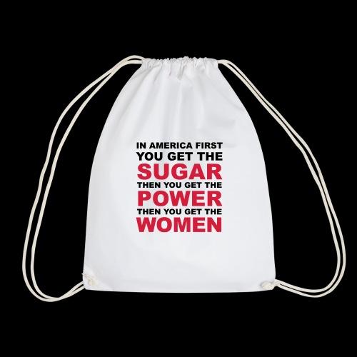 En América consigues primero el azúcar - Mochila saco