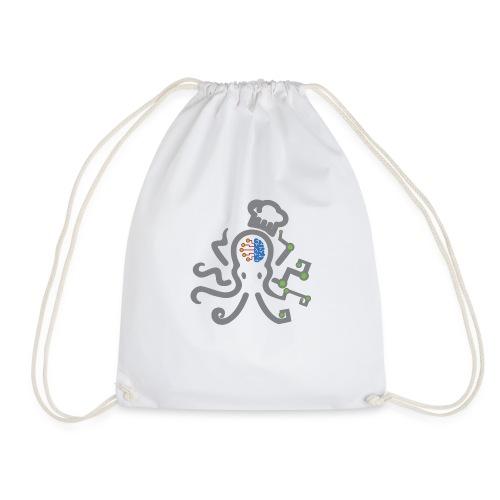 DT3 Octopus - Grey - Turnbeutel