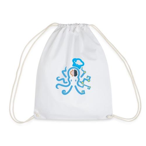 DT3 Octopus - Blue - Turnbeutel
