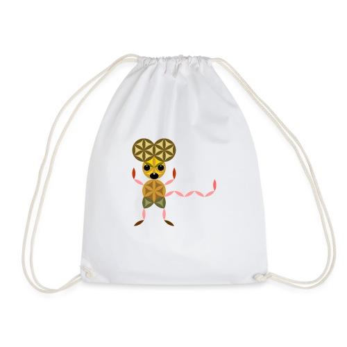 The Mouse Of Life - Sacred Animals - Drawstring Bag