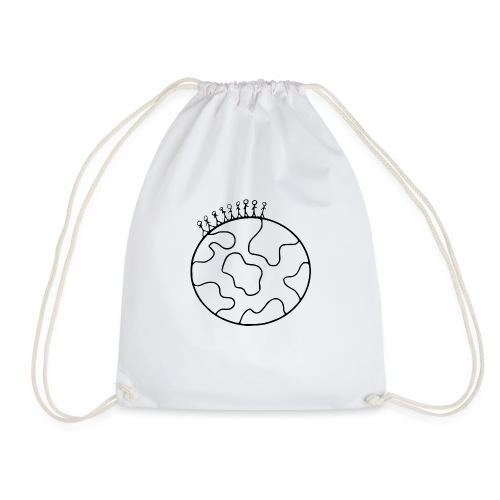 On Top Of The World - Drawstring Bag