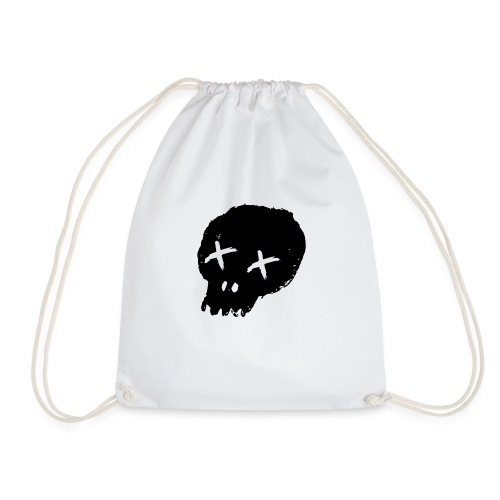 blackskulllogo png - Drawstring Bag