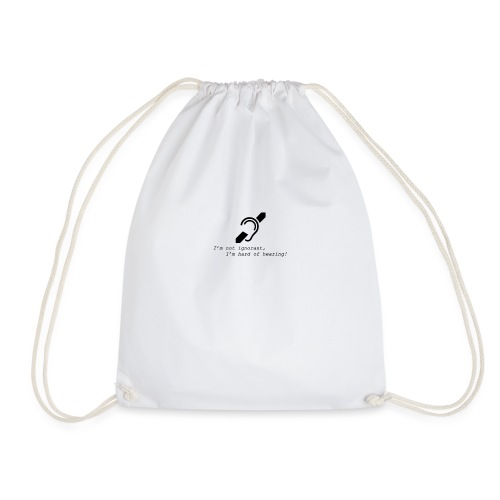 hearing - Drawstring Bag