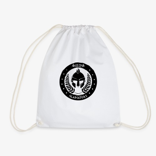 Gym Pur Gladiators Logo - Drawstring Bag