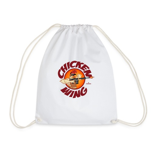 Chicken Wing Operator - Drawstring Bag