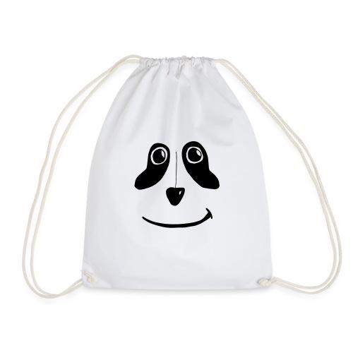 PandaFace - Drawstring Bag