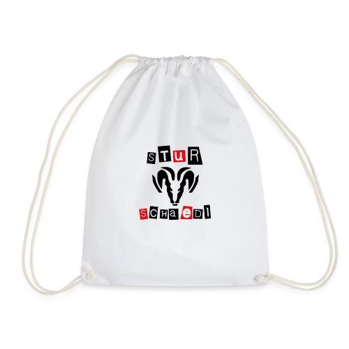 Sturschaedl Band-Logo (heller Hintergrund) - Turnbeutel