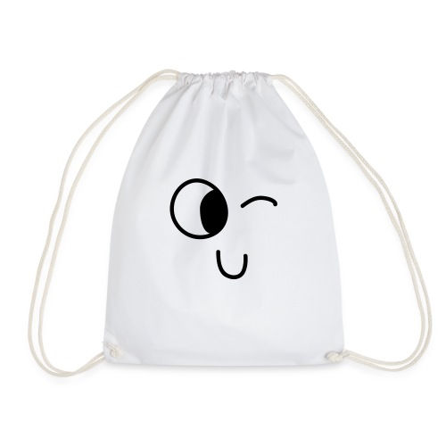 Jasmine's Wink - Drawstring Bag