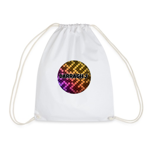 Darragh J logo - Drawstring Bag