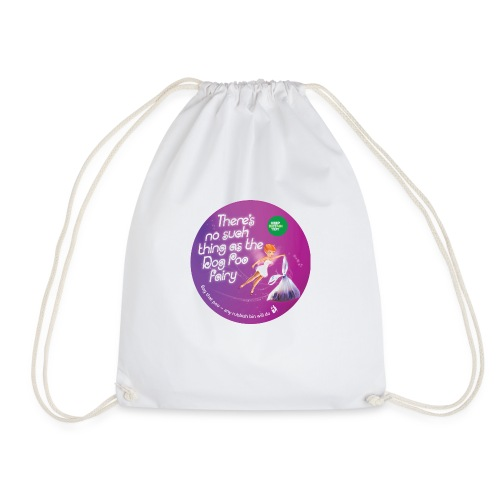 Dog Poo Fairy Circle - Drawstring Bag