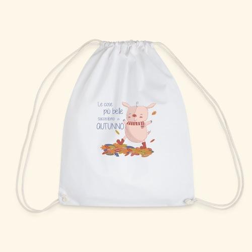 Autumn - Drawstring Bag