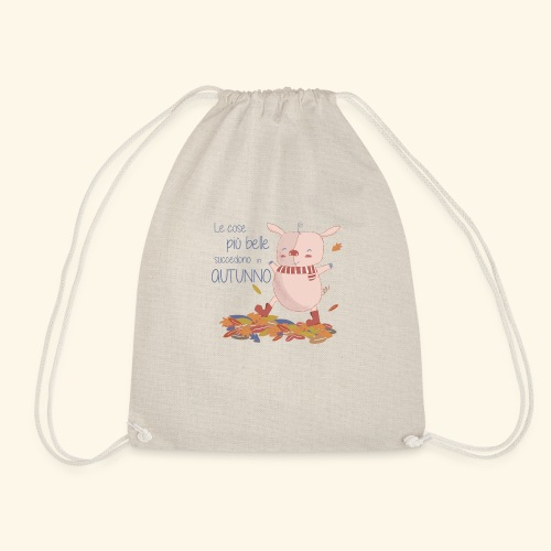 Autumn - Drawstring Bag