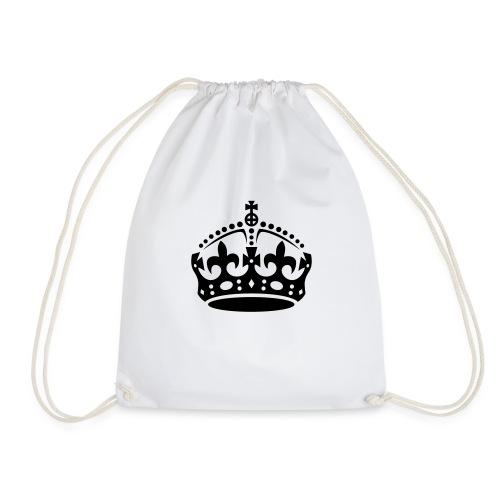 British Royal Crown - Drawstring Bag