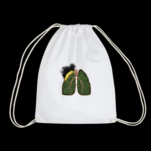 Amazonie, poumon de la planète en feu - Sac de sport léger