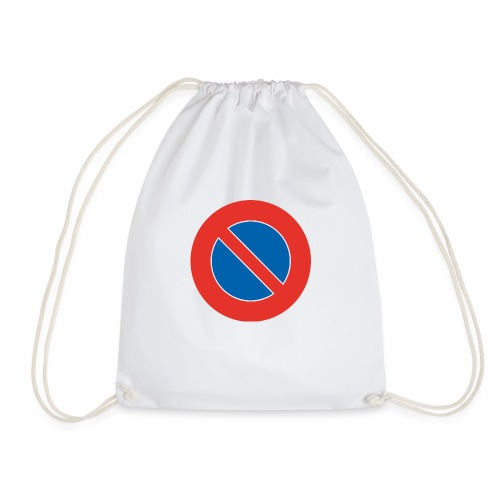 Parken verboten Tshirts - Turnbeutel