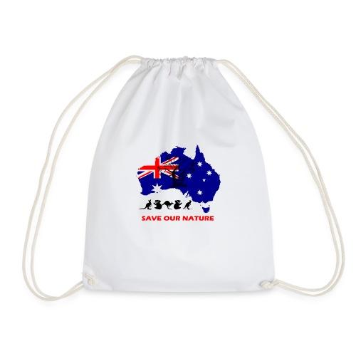 Australien - RETTE LEBEN - JETZT! - Turnbeutel