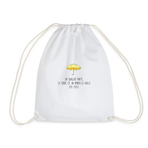Ombrello giallo HIMYM - Sacca sportiva
