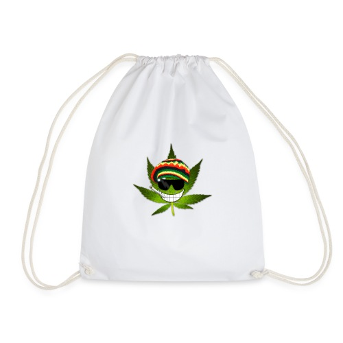 GermanWeedBoys Logo Buttons - Drawstring Bag