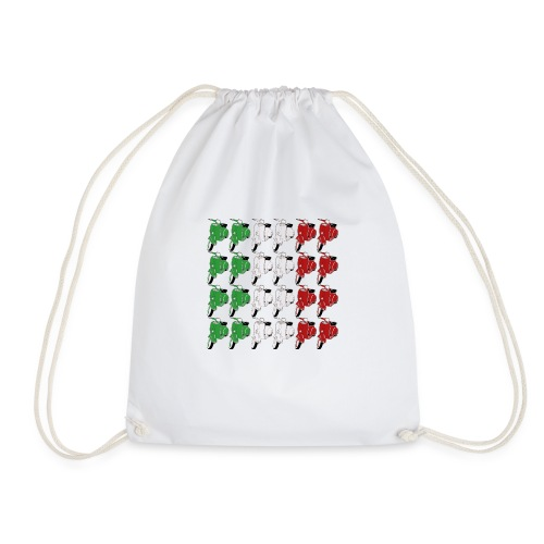 Italian_flag-png - Sacca sportiva