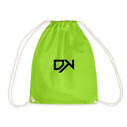 DewKee Logo T-Shirt Black - Drawstring Bag
