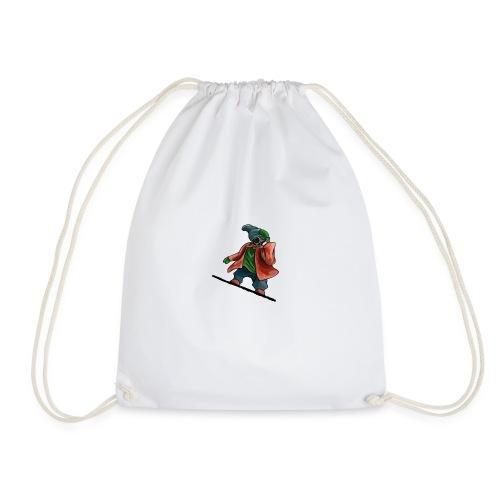 Snowboard - Drawstring Bag