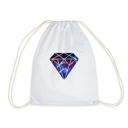 Space Diamond Nebula - Drawstring Bag