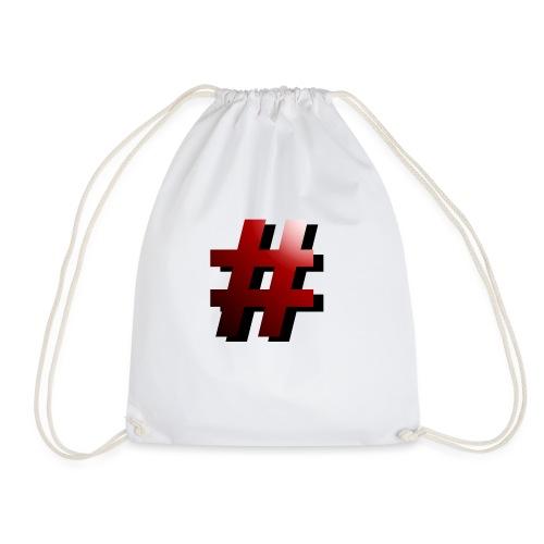 hashtag (#) - Turnbeutel