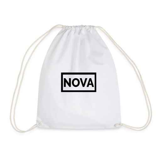 Red Nova Snapback - Drawstring Bag