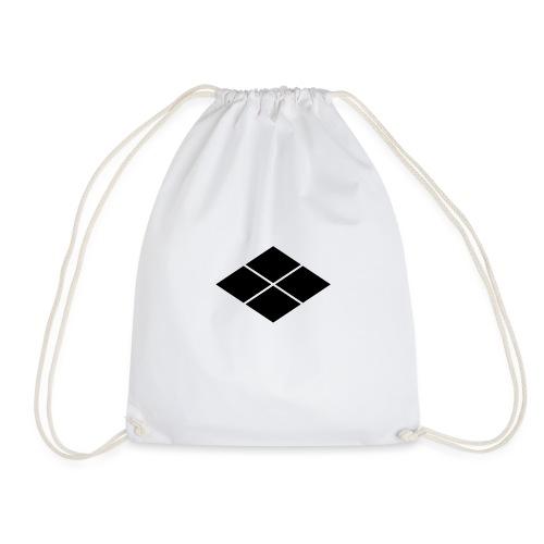 Takeda kamon Japanese samurai clan - Drawstring Bag