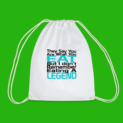 You Are What You Eat Shirt - Drawstring Bag