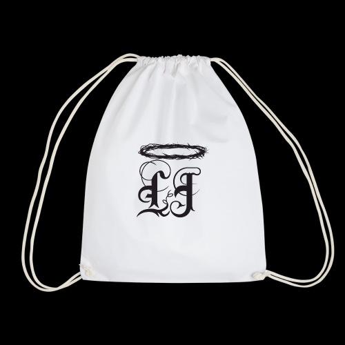 Classic Womens LJ Logo with #COVETING - Drawstring Bag