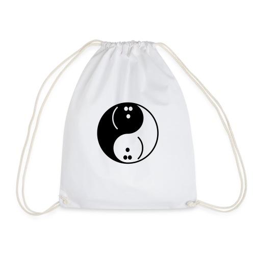 Bowling Yin-Yang - Drawstring Bag