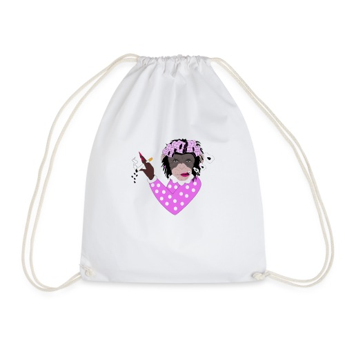 FEMALE MONKEY - Drawstring Bag