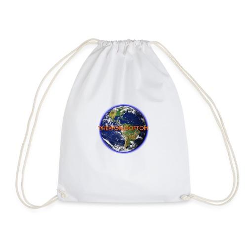 TheWorldOfTom Official T-Shirt - Drawstring Bag