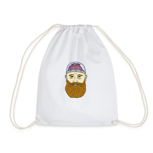 Beard for Brains - Drawstring Bag