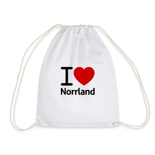 Jag Älskar Norrland (I Love Norrland) - Gymnastikpåse