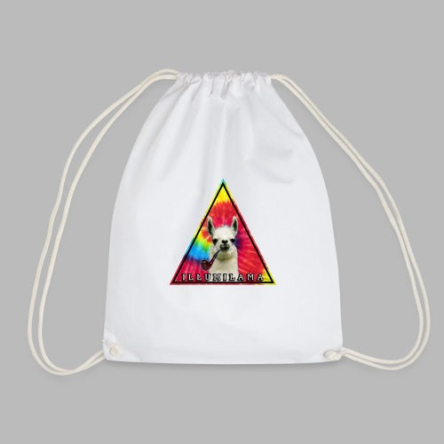 Illumilama logo T-shirt - Drawstring Bag