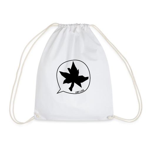 Speech Bubble Last Life - Drawstring Bag