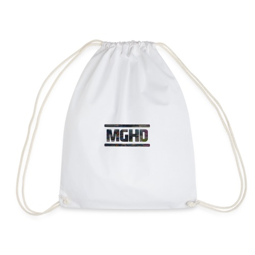 MGHD WHITE T-SHIRT - Drawstring Bag