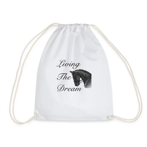 Living The Dream - Vest Top - Drawstring Bag