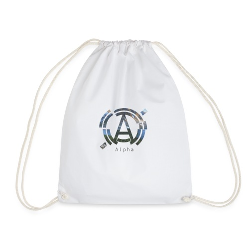 AlphaOfficial Logo T-Shirt - Drawstring Bag